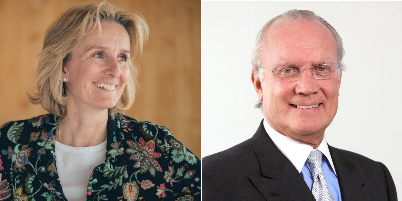 Irene Rummelhoff, Equinor's executive vice president for Marketing, Midstream and Processing, and A. Gary Klesch the chairman of the Klesch Group.